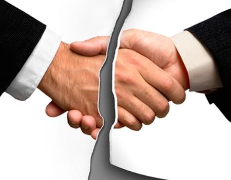 Incumplimientos contractuales